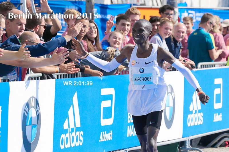Eliud Kipchoge credits teamwork for his Success