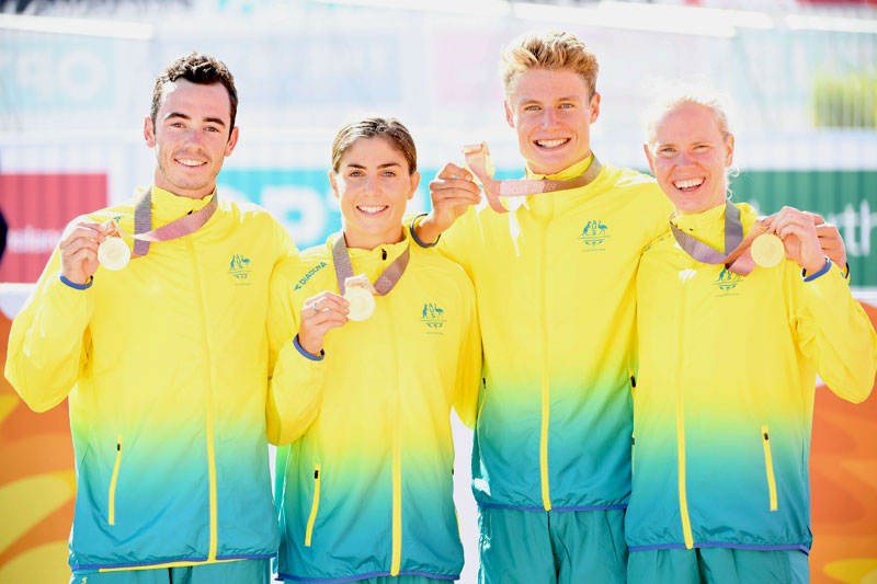 Triathlon Mixed Relay - Australia Gold Coast