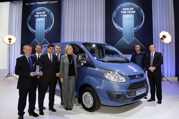 Ford Transit -  Van of the Year