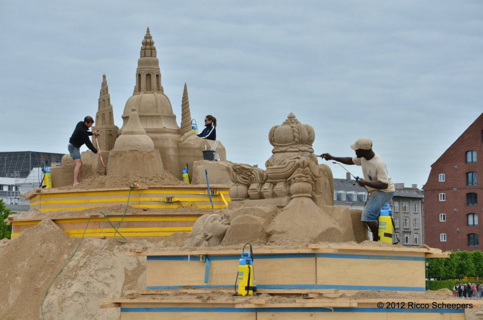 Copenhagen International Sand Sculpture Festival 2012