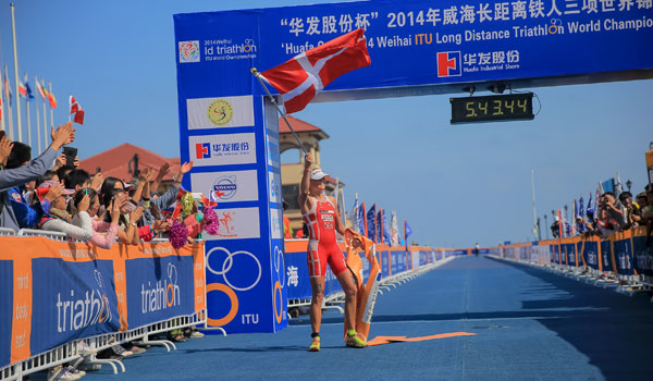 Camilla Pedersen wins Long Distance title