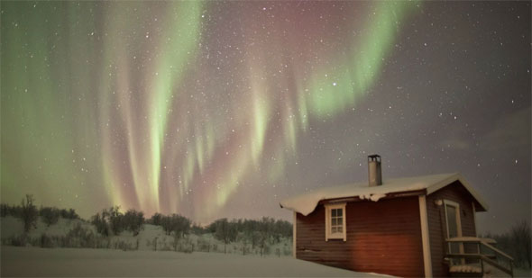 Northern Lights by Christian Mulhauser