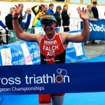 Falch retains Cross Triathlon title
