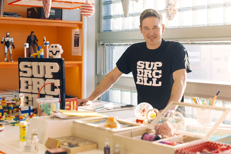 Finnish Supercell founders display a social conscience