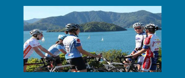 Cyclists line up for Tour of New Zealand