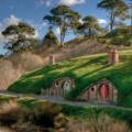 Thousands of international visitors each year visit Hobbiton village
