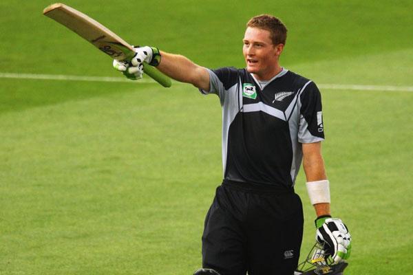 Cricketer: Martin Guptill