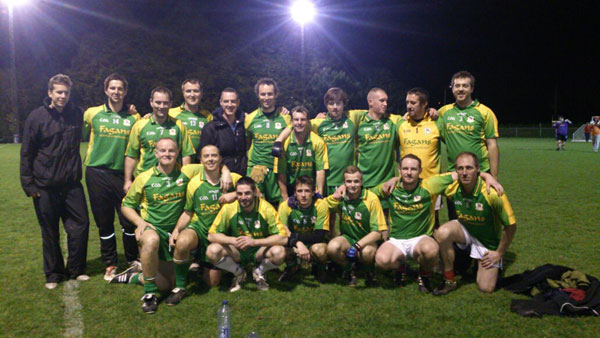 Malmo GAA - European Shield Champions