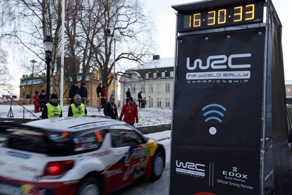 Swedish Firm Takes On WRC Timing System