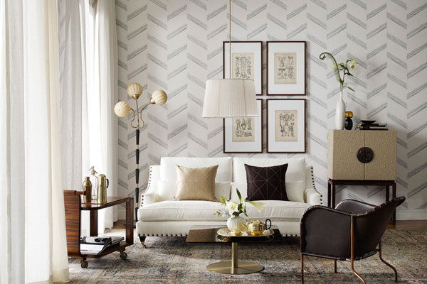Wallpapers Inspired By Swedish Art Deco