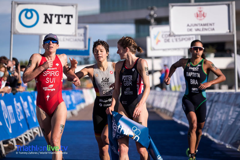 World Cup win for Beth Potter