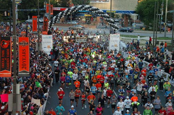 Baltimore Running Festival economic impact