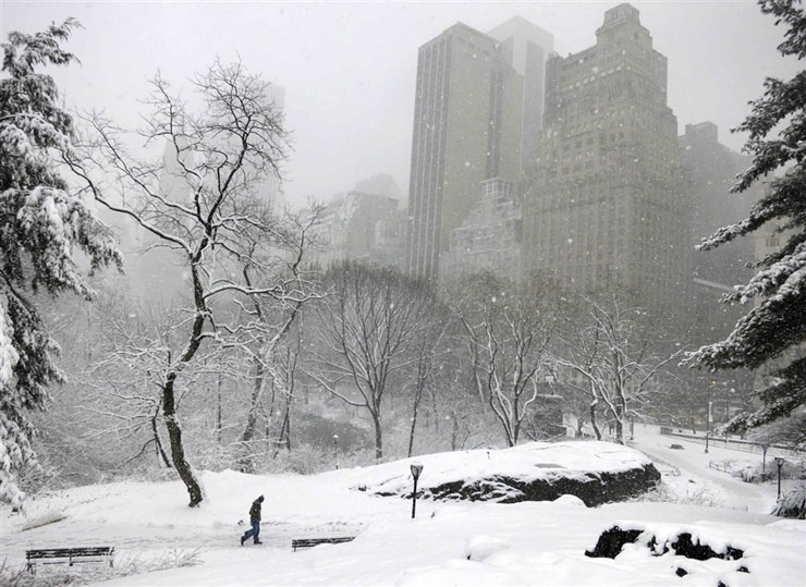 Millions in US affected by fierce snowstorm