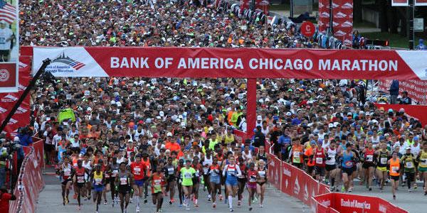 Chicago Marathon Boosts Economy