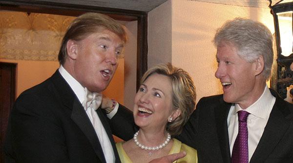 trump - clinton - us elections